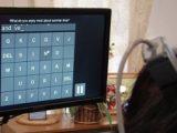 Ученые создали специальный аппарат набора текста на клавиатуре для парализованных людей
